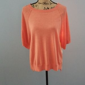 Moth by Anthropologie semi sheer soft top!